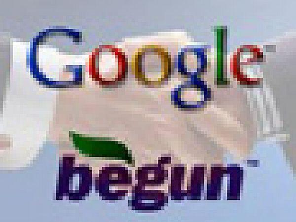 """Google купил систему контекстной рекламы """"Бегун"""""""