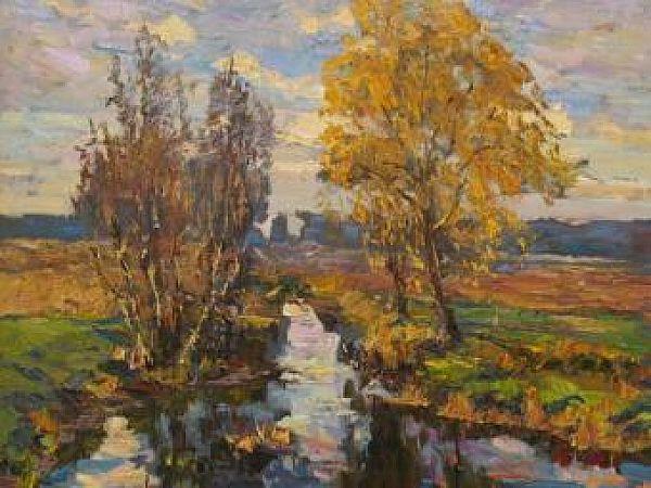 """Виставка художника Сергія Шаповалова """"Розквітай, Україно"""""""