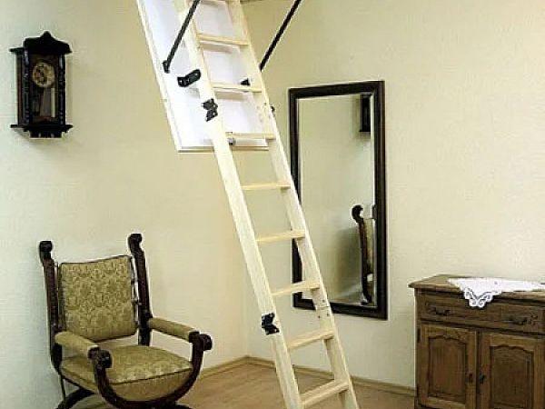 Чердачная лестница и преимущества выбора