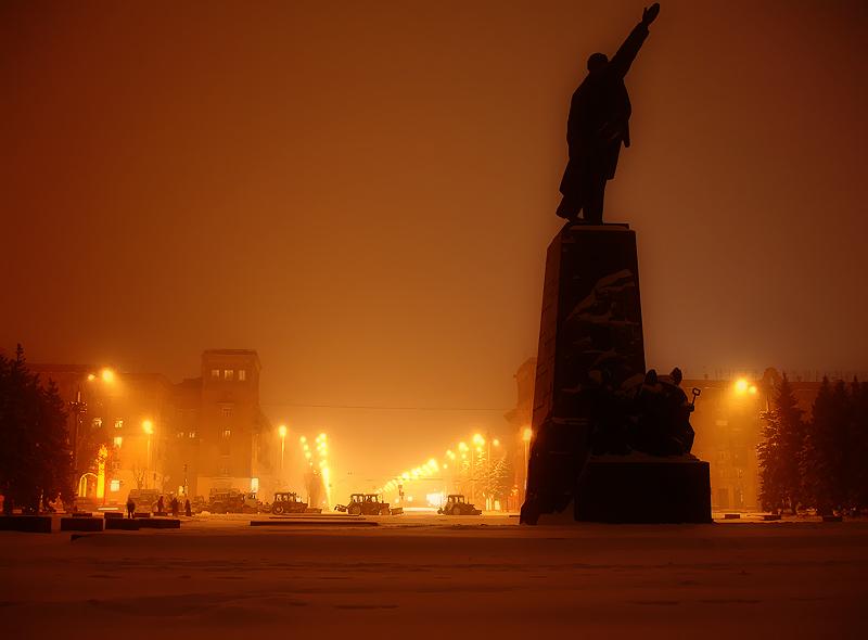 Вид на проспект Ленина в Запорожье. Фото пользователя Tony Wan Kenobi